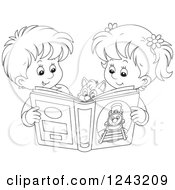 Royalty Free Story Book Clip Art By Alex Bannykh Page 1