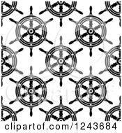 Clipart Of A Seamless Background Pattern Of Royalty Free Vector Illustration