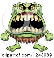 Goblin Monster With Big Teeth