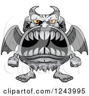 Gargoyle Monster With Big Teeth