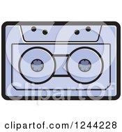 Purple Cassette Tape