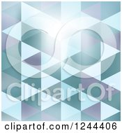Clipart Of An Abstract Geometric Background Royalty Free Vector Illustration by vectorace