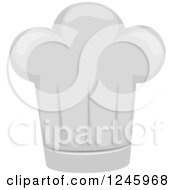 Clipart Of A Chef Toque Hat Royalty Free Vector Illustration by BNP Design Studio