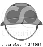 Clipart Of A Sports Polo Hat Royalty Free Vector Illustration by BNP Design Studio
