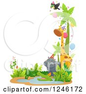 Clipart Of A Royalty Free Vector Illustration by BNP Design Studio