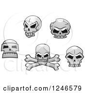 Poster, Art Print Of Skulls