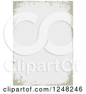 Clipart Of A Distressed Grungy Tan Background Design Royalty Free Vector Illustration