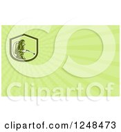 Clipart Of A Pest Control Exterminator Background Or Business Card Design Royalty Free Illustration by patrimonio