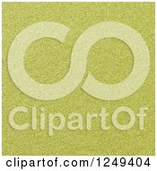 Clipart Of A Background Of Gold Glitter Texture Royalty Free Illustration