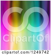 Clipart Of A Funky Colorful Background Royalty Free Illustration