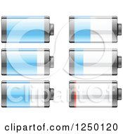 Clipart Of Batteries Royalty Free Vector Illustration by Vector Tradition SM