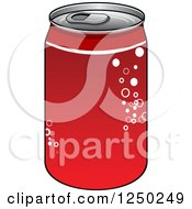 Clipart Of A Soda Cola Can Royalty Free Vector Illustration