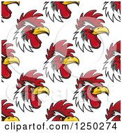 Clipart Of A Seamless Background Pattern Of Royalty Free Vector Illustration by Seamartini Graphics