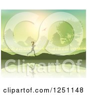 Clipart Of A Royalty Free Vector Illustration by KJ Pargeter