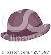 Clipart Of A Hat Royalty Free Vector Illustration