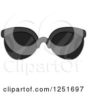 Clipart Of Mens Sunglasses Royalty Free Vector Illustration by BNP Design Studio