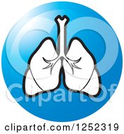 Blue Lungs Icon