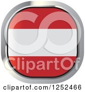 Clipart Of A Square Austrian Flag Icon Royalty Free Vector Illustration