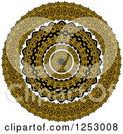 Clipart Of A Circle Celtic Design Royalty Free Vector Illustration