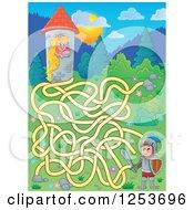 Rapunzel And Knight Maze