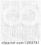 Clipart Of A Seamless Background Of Linen Royalty Free Vector Illustration