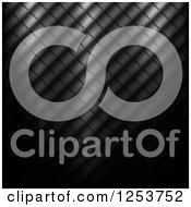 Clipart Of A Tiled Metal Texture Royalty Free Vector Illustration by vectorace
