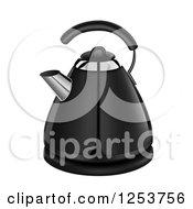 3d Black Coffee Kettle