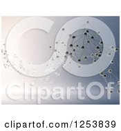 Clipart Of A 3d Abstract Network Royalty Free Illustration