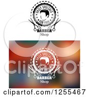 Clipart Of Daily Specials Barber Shop Designs Royalty Free Vector Illustration