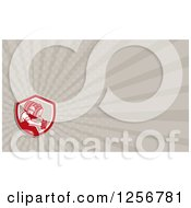 Clipart Of A Business Card Design Royalty Free Illustration