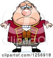 Sad Depressed Chubby Benjamin Franklin