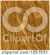 Clipart Of A Seamless Oak Or Pin Wood Grain Texture Background Royalty Free Illustration