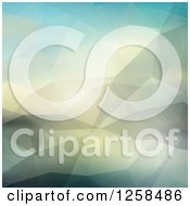Clipart Of A Pastel Geometric Background Royalty Free Vector Illustration