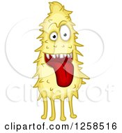 Clipart Of A Monster Royalty Free Vector Illustration by Seamartini Graphics