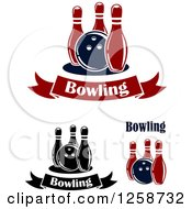 Poster, Art Print Of Bowling Balls With Pins