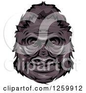 Happy Gorilla Head Mascot