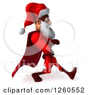 3d Super Hero Santa Speed Walking
