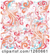 Background Of Abstract Floral