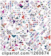 Clipart Of A Colorful Geometric Background Royalty Free Vector Illustration by OnFocusMedia