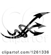 Black And White Arrow Design