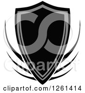 Grayscale Shield Badge