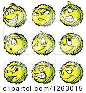Tennis Ball Mascots
