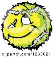 Tennis Ball Mascot
