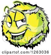 Tough Tennis Ball Mascot