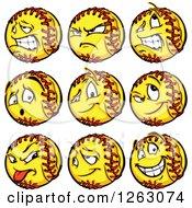 Softball Mascots