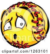 Softball Mascot
