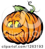 Halloween Pumpkin Character