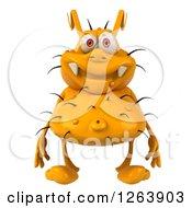 3d Yellow Germ