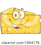 Happy Cheese Wedge Character