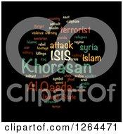 Isis And Al Qaeda Word Tag Collage On Black